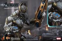 Marvel Avengers Chitauri Commander Sixth Scale Figure Hot Toys MMS 227 Sideshow