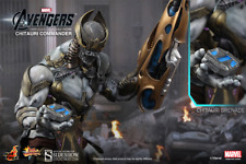 Marvel Avengers Chitauri Commander Sixth Scale Figure Hot Toys MMS 227 Sideshow