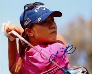 Lydia Ko Autographed Signed 8x10 Photo LPGA COA CFS Free Shipping
