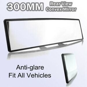 """12"""" 300mm Universal For All Vehicles AntiGlare Curved Interior Rear view Mirror"""