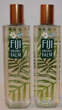 2 Bath & Body Works Fiji Pineapple Palm Fine Fragrance Mist SPRAY 8 oz NEW