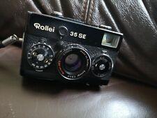 Black Rollei film Camera 35 SE, 40mm F2.8 Sonnar HFT lens