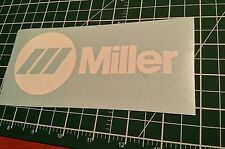Miller Welder Decals Stickers Graphics Set Of 2 Choose  Color Tools Wire Gloves