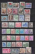 DDR, Jahrgang 1953 (ohne Nr. 343), postfrisch