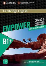Cambridge English Empower Combo B Student's Book B1+ Intermediate Workbook New