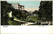 Cassel Kassel Hessen alte Litho-AK ~1900 Regierungsgebäude Regierung Gebäude