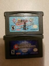 NINTENDO GAMEBOY ADV Fairly OddParents: Breakin' Da Rules AND MEET THE ROBINSONS