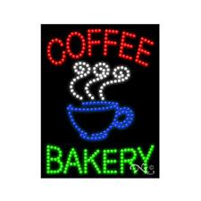 New Coffee Bakery 26x20 Logo Solid Amp Animated Led Sign Withcustom Options 20708
