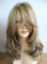NEW38 fine Women's long dark blonde mixde wig health wig Hair wigs
