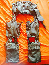 BRITISH RAF AIRCREW PILOTS ANTI-G FLIGHT SUIT SURVIVAL TROUSERS MARK 4