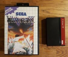 ULTIMA 4 *Master System SEGA PAL Game* En boite sans notice Bon etat