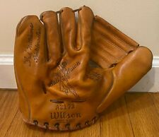 Vintage Ted Williams Wilson A2173 Model Baseball Glove Boston Red Sox HOF
