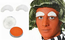 WORLD BOOK DAY UMPA LUMPA EYEBROWS ORANGE FACE PAINT