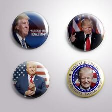 4 DONALD TRUMP 2020  PRESIDENTIAL ELECTIONS - Pinbacks Badge Button 25mm 1''