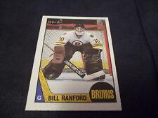1987-88 OPC O-Pee-Chee #13 Bill Ranford Rookie Bruins - MINT