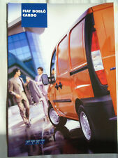 Fiat Doblo Cargo range brochure Sep 2001