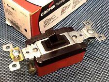 1pcs - COOPER AH1221 20A 120-277VAC Toggle Switch