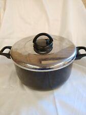 T-FAL Non-stick 8-Quart Black Stock Pot with Vented Lid