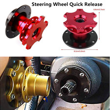 Sports Racing Car Steering Wheel Quick Release Hub Adapter Snap Off Boss Kit