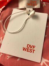 DVF West, Red Paper Planes Wrap Dress P MSPR 248