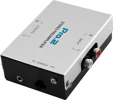 Pro2 PA005 Inline Phono Preamp 9v Battery Or Power Pack