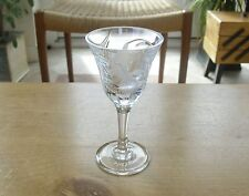 "Royal Brierley Fuchsia Sherry Glass(2nd) - 5 3/8""(>13.5cms) - 5 available"