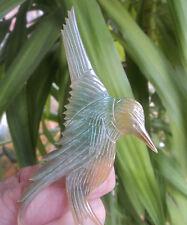Art Deco French Bull Horn Woodpecker Bird Brooch  Elizabeth Bonte Georges Pierre