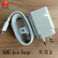 Original Fast Charger AU Adapter Type-c Cable For Huawei P10 Plus Honor 8 9 V9