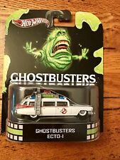 2012 Hot Wheels Retro Entertainment GHOSTBUSTERS ECTO-1 Slimer '59 Cadillac