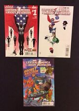 Captain America & The Mighty Avengers #1 Comic Book Variant Lot Marvel Luke Ross