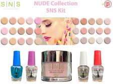 SNS Dipping Nail DIY Kit NUDE COLLECTION NC Dip Powder System 5-Piece SETs +FREE