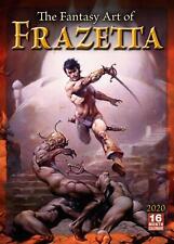 FANTASY ART OF FRAZETTA - 2020 WALL CALENDAR  - BRAND NEW - 907457