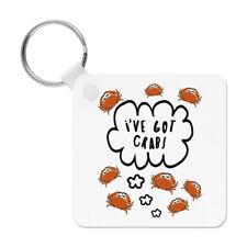 I've Got Crabs Keyring Key Chain - Funny Joke Animal Crab