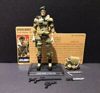 G.I. Joe 25th 30th POC ROC Lt. Falcon  Figure Complete