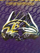 Baltimore ravens Nike Vapor fly on field gloves size  large