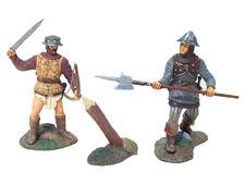 BRITAINS MEDIEVAL KNIGHTS 17684 ENGLISH MEN AT ARMS SET #1 MIB