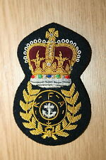 BRITISH ROYAL FLEET AUXILIARY CHIEF PETTY OFFICER'S CAP BADGE CURRENT