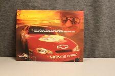 Dale Earnhardt 2000 Original #3 Taz No Bull Team Monte Carlo Postcard