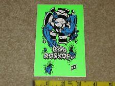 Nos Rob Roskopp 3 sticker decal original 1980's skateboard skate board