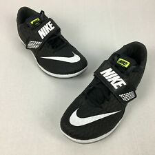 0f04f706b3f NIke Zoom High Jump Elite Track Spikes Shoes Black Size 10.5 806561-017