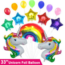 Huge Unicorn Fantasy Horse Foil Balloon Girls Birthday Party Baby Shower OZ