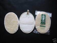"Lot of 3 Natural 5""x7"" Sisal Loofah Loofa Scrub Pad"