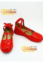 Alice in the Country of Hearts Alice cosplay shoes red