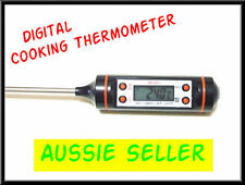 DIGITAL COOKING FOOD MEAT PROBE THERMOMETER  kitchen bbq oven temperature