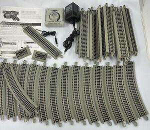 Bachmann 44547 HO Nickel Silver E-Z Track Reversing System Track Set Huge Lot