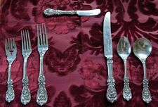 Reed and Barton Francis the 1st Sterling Silver 7 Piece Place Setting