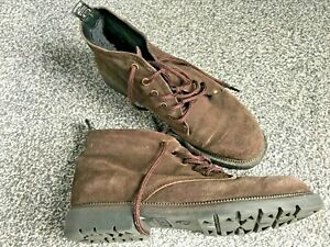 PICNIC LADIES BROWN SUEDE FLEECE LINED ANKLE BOOTS WOMENS SIZE UK 7 EUR 41