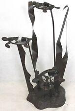 Lampe marine tortues en métal