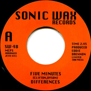 DIFFERENCES FIVE MINUTES Soul Northern Motown