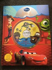 Disney 3 In 1 Cd Read Along Book Toy Story, Monsters Inc & Cars #sundaymarket
